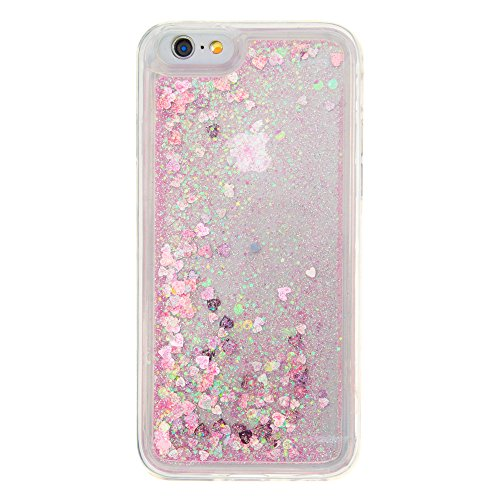Nutbro iPhone 5C Case,iPhone 5C Liquid Case Fashion Creative Glitter Liquid with Slim Protection Soft TPU Bumper Moving Quicksand Case for iPhone 5C YB-iPhone-5C-276