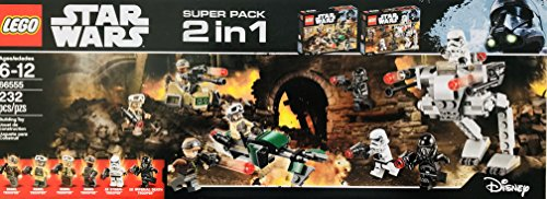 LEGO 2 in 1 Star Wars 66555 Building Set (Einem 2 Star-wars-lego-sets In)