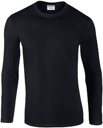 GILDAN Men's Softstyle Long Sleeve T Shirt