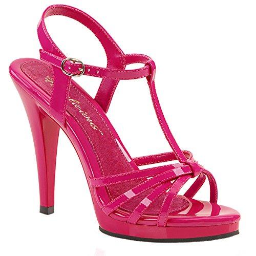 ious Riemchen-Sandaletten Flair-420 Lack hot pink Gr. 46 ()