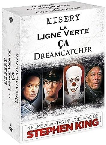 4 films adaptés de l'oeuvre de Stephen King: Dreamcatcher + Misery + La ligne verte + Ça [Édition