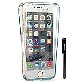 Misstars Coque en Silicone pour iPhone 5S 360 Degrés de Protection, 2 en 1 Avant...