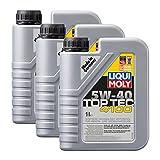 3x LIQUI MOLY 3700 Top Tec 4100 5W-40 Motoröl