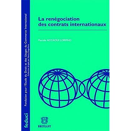 La renégociation des contrats internationaux
