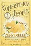 Confetteria Leone Astucci di Zenzerelle, gelatine allo zenzero - 7 Confezioni da 80 G