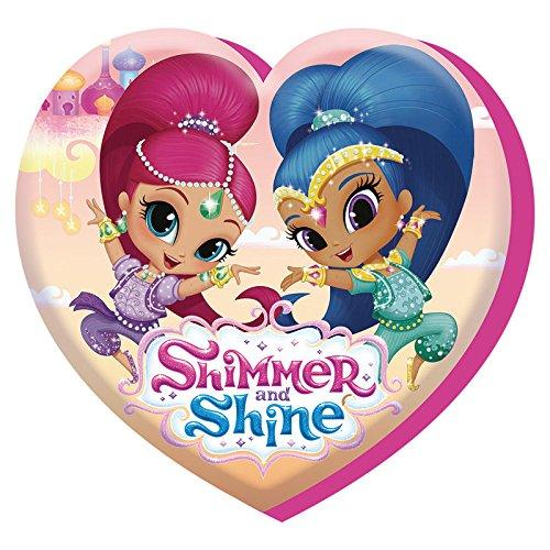 Shimmer y brillo sh17004V & Shine–40cm con cojín en forma de corazón