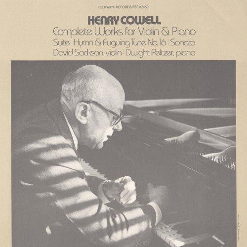 Cowell, Henry: Sonata: In Fuguing Style- Allegro Maestoso