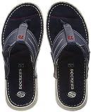 Dockers by Gerli 38sd004-204600, Sandalias de Gladiador para Hombre, Azul (Blau 600), 44 EU