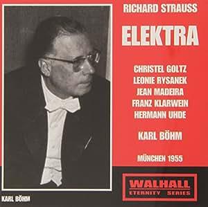 Strauss R Elektra Karl Bohm Munich 1955