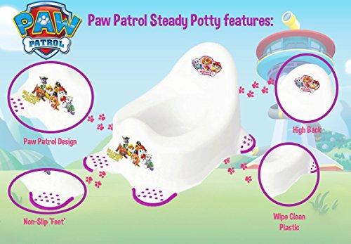Nickelodeon Paw Patrol Steady orinal (Blanco/Morado)