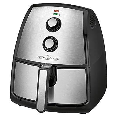 Profi Cook Pc Fr 1115 H Edelstahl Heiluft Fritteuse 35 L Fassungsvermgen Stufenlos Regelbarer Thermostat Timer 1500 W