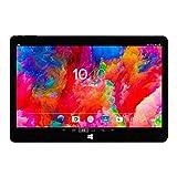 Woxter ZEN 12 - Tablet de 11.6' (Intel Atom Z3735F Quad Core, 1.33-1.83 GHz, Wi-Fi, Bluetooth, 2 GB de RAM DDR3L, 32 GB de memoria interna, Windows 10/Android 5.1) color negro y azul