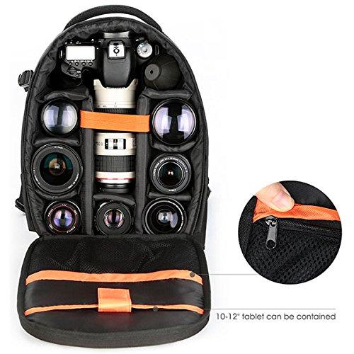 "Imagen de k&f concept   para cámara réflex y ordenador portátil 10 12"", s 33.5cmx25cmx14cm  alternativa"