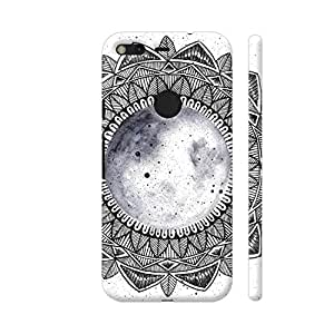 Colorpur Google Pixel XL Cover - Moon Mandala Printed Back Case