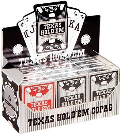 Cartamundi Copag de cartes à à à jouer 100% plastique - 1 douzaine-Peek indice 12 jeux 5e0ff9