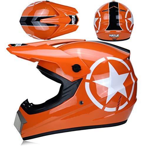 Erwachsener Modularer Motorradhelm Herren ATV Moto Helm Bern POC Off Road Motocross Viking Helm