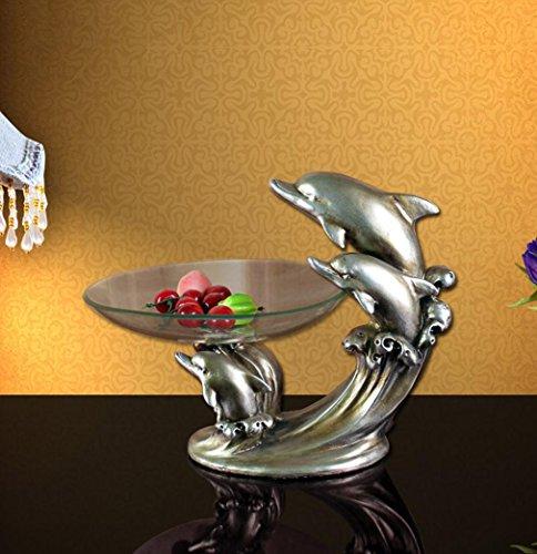 ZYT Kreative Dolphin Kompott Vintage europäischen Stil Vintage-kompott
