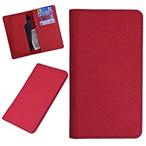 DCR Pu Leather case cover for Oppo N1 Mini (RED)