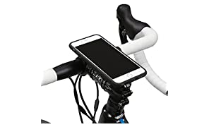 Quad Lock Bike Kit Soporte de Bicicleta iPhone 6/6S, Unisex, Negro/Azul, M