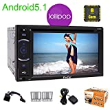 St?rkster Octa Kern 2Ghz 32G ROM Android5.1 Lollipop Eincar Autoradio in Dash Steuerger?t Spiegel Link-Auto GPS-Navigation 3D-Karte 6.2 Zoll Auto-Monitor mit DVD-Player Car Entertainment Unterst¨¹tzung Lenkrad / 4G / 3G / WiFi / USB / SD