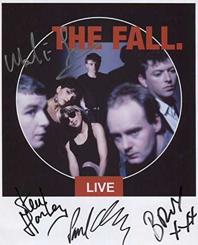 """Price comparison product image Mark E. Smith The Fall SIGNED 8"""" x 10"""" Photo + Certificate Of Authentication 100% Genuine"""