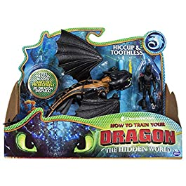 Dragons 6052275 Hiccup e Sdentato – Drago con Vichingo