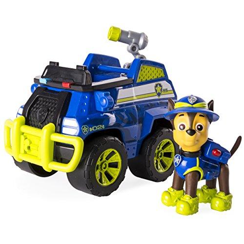 Paw Patrol 6033373Dschungelfahrzeug mit Chase-Figur (Ferngesteuertes Auto Paw Patrol)