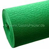 30x0,95m Krepppapier grün Krepp-Papier Bastelkrepp/Floristenkrepp