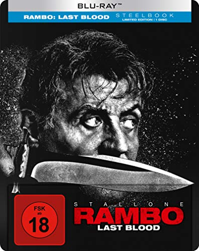 Rambo: Last Blood BD Steelbook [Blu-ray]