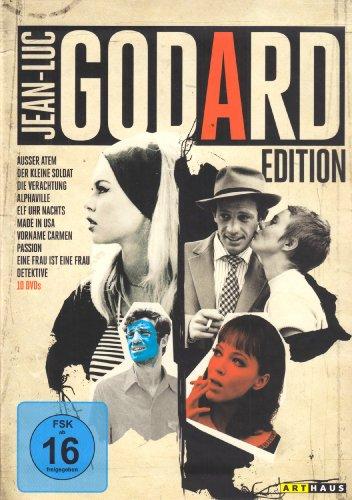 Jean-Luc Godard Edition [10 DVDs]