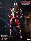 "Hot Toys Marvel Iron Man 3 Heartbreaker Mark 17 XVII 1/6 Scale 12"" Figure MISB by Hot Toys"
