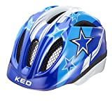 KED Meggy Helmet Kids Blue Stars Kopfumfang 49-55 cm 2017 mountainbike helm downhill