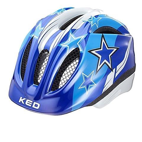 KED Meggy Helmet Kids Blue Stars Kopfumfang 44-49 cm 2017 mountainbike helm downhill