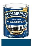 750 ml Hammerite Direkt auf Rost Metall-Schutzlack Blau, Glanz