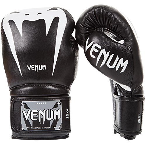 Venum Giant 3.0 Boxhandschuhe Muay Thai, Kickboxing, Schwarz, 14 oz