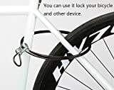 Laptop Cable Lock Computer Lock Hardware Security Cable Lock Anti Theft Lock for iPad Tablet Laptop MacBook with Black Anchor