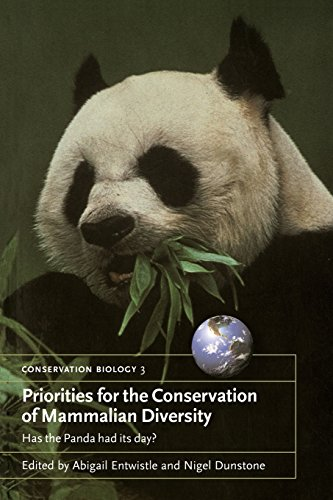 Priorities for the Conservation of Mammalian Diversity Paperback: Has the Panda Had Its Day? (Conservation Biology) por Entwistle