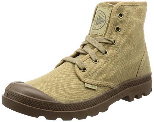 Palladium Pampa Hi, Herren Desert Boots, Beige (Stonewashed Dark Khaki 261), 43 EU (9 Herren UK) (Denim-stoff Stonewashed)