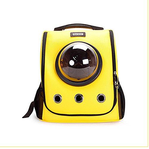Zaino per animali domestico dallo spazio portatile, trasportabile e confortevole borsa da viaggio per cani e gatti per cani e gatti