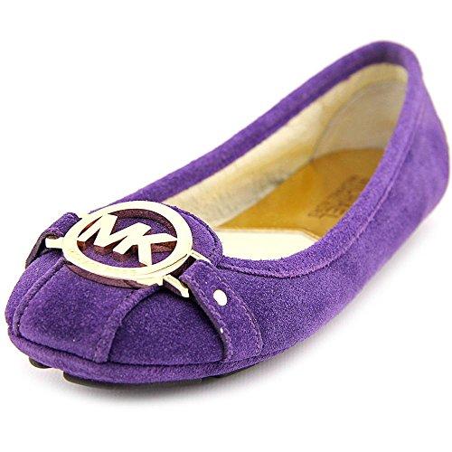 Michael Michael Kors Fulton Moc Daim Chaussure Plate Iris