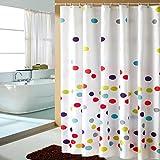 DFHHG® Duschvorhang, Dicker wasserdicht Vermeiden Sie Mehltau Polyester Material Duschvorhänge 150x180cm, 240x200cm Umweltschutz weich ( größe : 150*180cm )