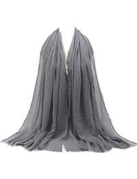 MRULIC Echarpes foulards femme Foulards Echarpe Foulard Long dame écharpe  châle écharpe femme écharpe wrap écharpes b24c4d37ae7