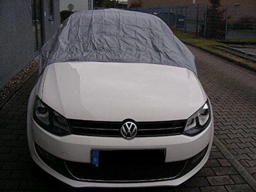 Kley & Partner Halbgarage Auto Abdeckung Plane Haube wasserdicht Material California Light kompatibel mit Volkswagen VW Golf 7 ab 08/2012