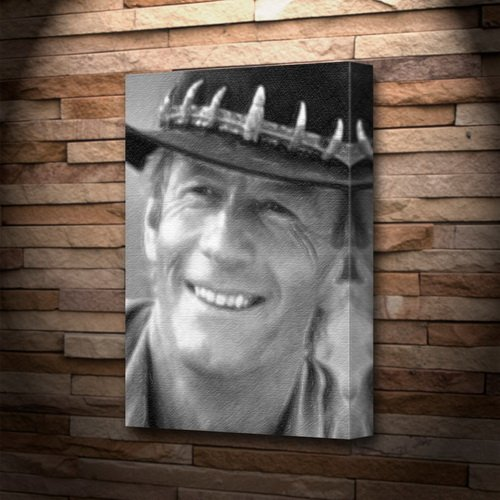 PAUL HOGAN - Canvas Print (LARGE A3 - Signed by the Artist) #js001