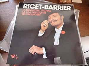 Ricet-Barrier : la servante du château - 1976 -disque barclay 950.081