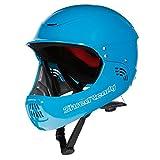 Megastore4 Shred Ready Fullface Wildwasser Helm Kajak Helm Sup Wassersporthelm Fullface Helm Wakeboard Helm Wassersporthelm (Colorado Blue)