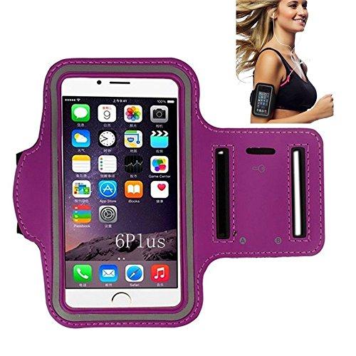Sportarmband, Morris Wasser resistand Schlüssel Halter Karte Halter Sporthülle für Smartphones iPhone 7, 7Plus, 6, 6Plus, 6S, 5, 5S, 4, 4S, Galaxy S3, S4+ Schlüsselhalter, wasserabweisend