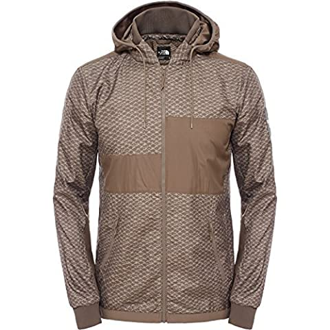 The North Face Men's Denali Diablo Jacket - Brown/Weimaraner Brown Print, Medium by The North Face