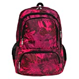 #9: Fur Jaden Pink Casual Backpack for Girls with Four Compartments for School and College 35 Litre Capacity