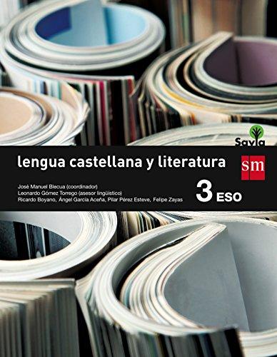 Lengua castellana y literatura. 3 ESO. Savia